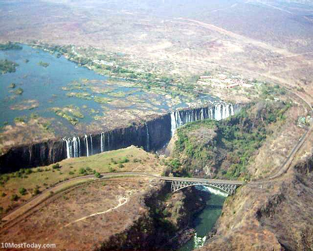 Bridges That Cross International Borders: Victoria Falls Bridge, Zimbabwe and Zambia