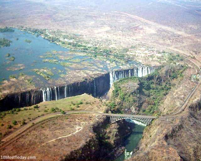 Bridges That Cross International Borders: Victoria Falls Bridge, Zimbabwe and Zambia