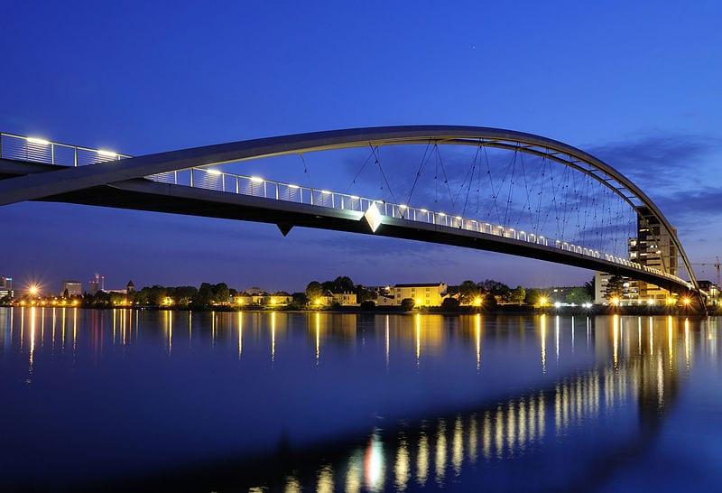 Bridges That Cross International Borders: Three Countries Bridge, France and Germany