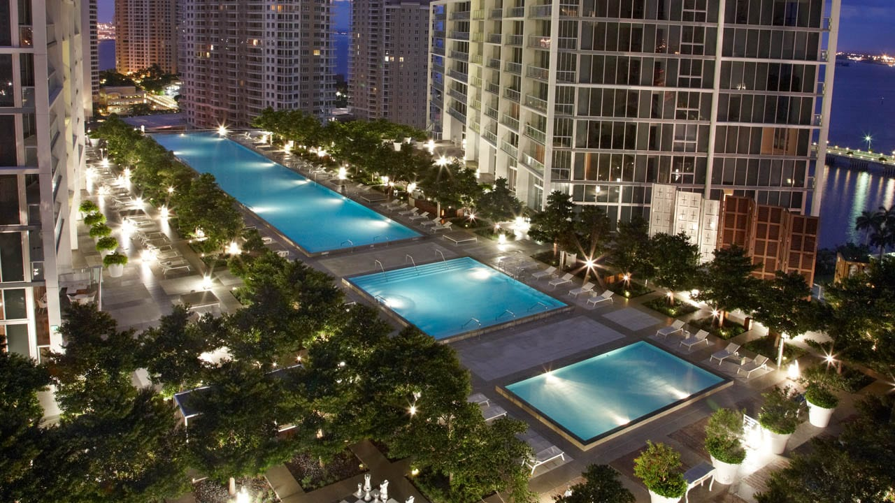 Hotel Pools in the U.S.