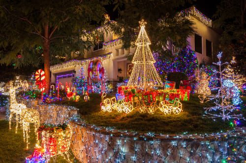 christmas lights displays