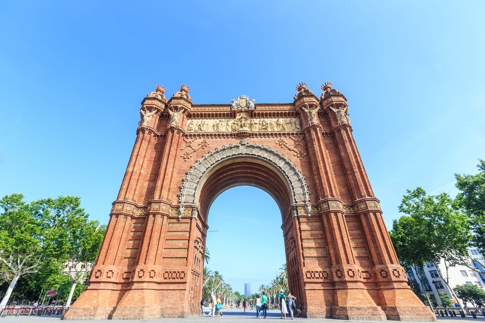 Most Famous Man-Made Arches - Arc de Triomf