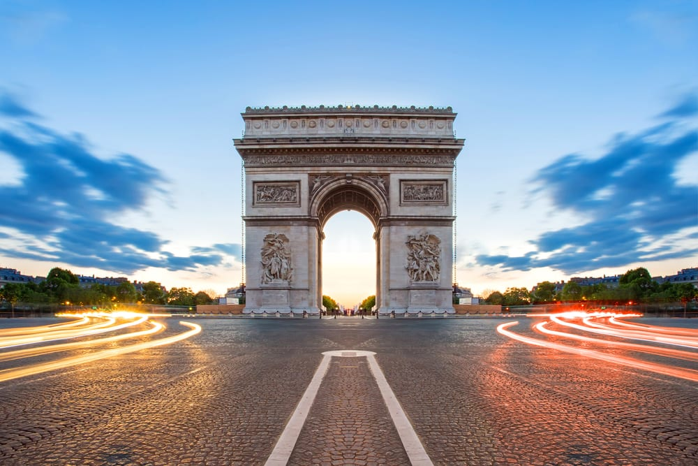 Most Famous Man-Made Arches - Arc de Triomphe
