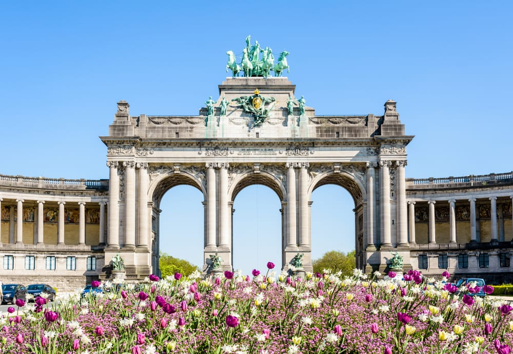 Most Famous Man-Made Arches - Arch of Cinquantenaire