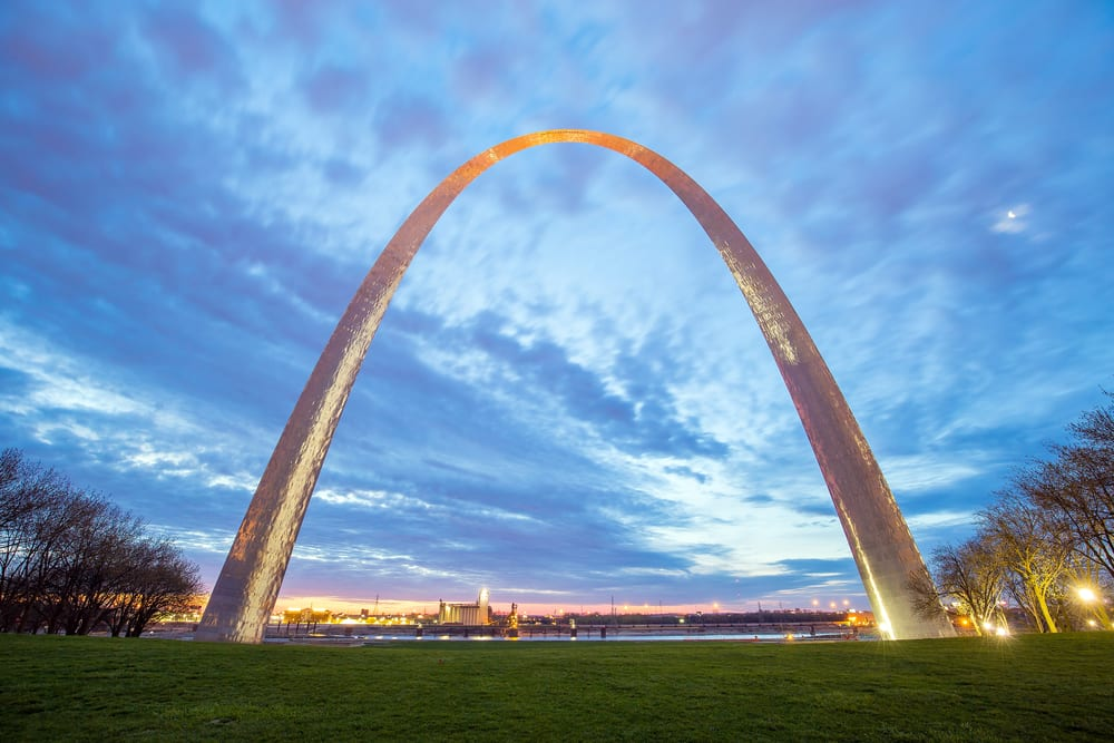 Most Famous Man-Made Arches - Gateway Arch