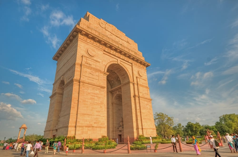Most Famous Man-Made Arches - India Gate