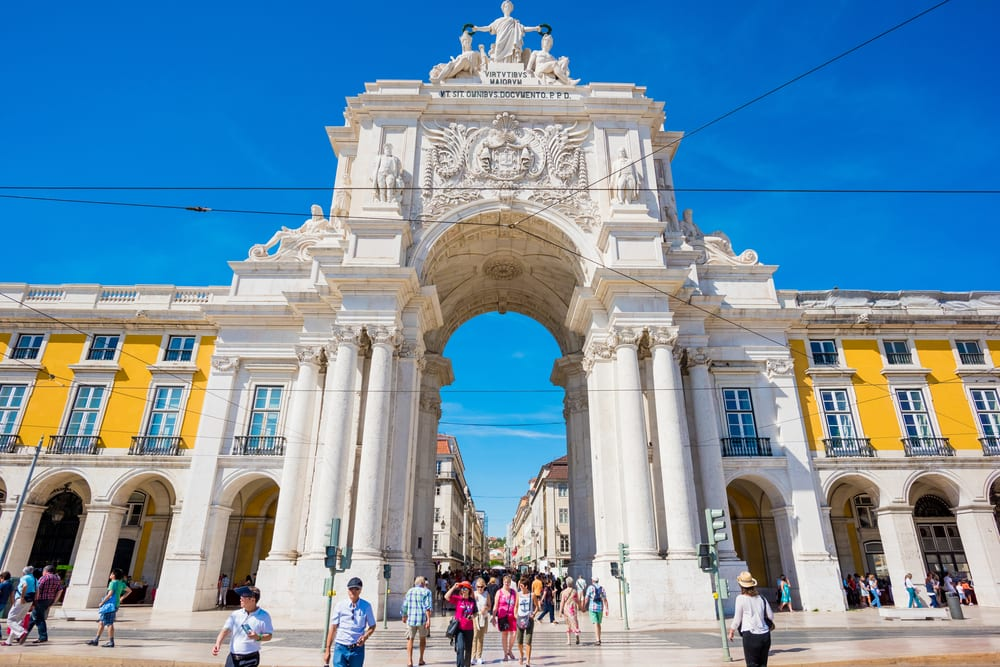Most Famous Man-Made Arches - Rua Augusta