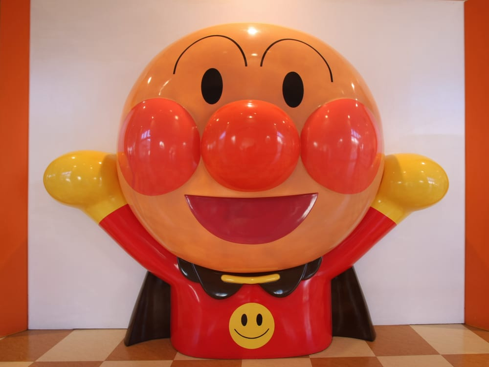 Cutest Cartoon Characters -Anpanman