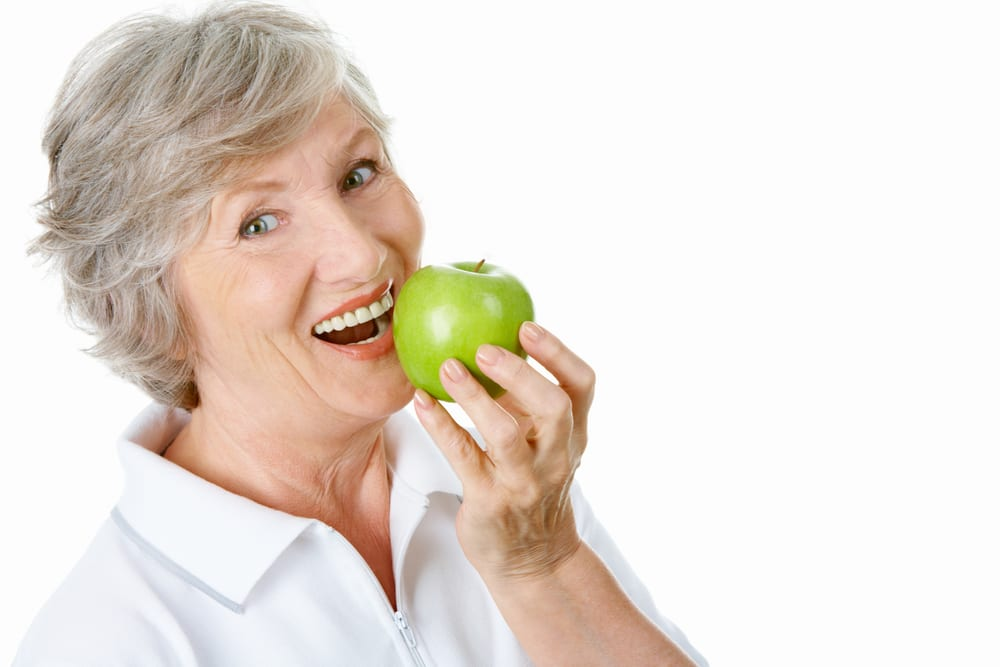 Healthy Foods for Senior Citizens - apple