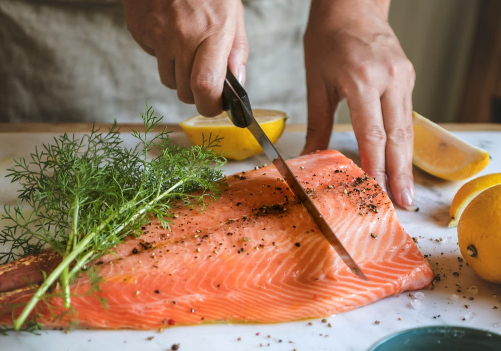 Healthy Foods for Senior Citizens - cold water fish