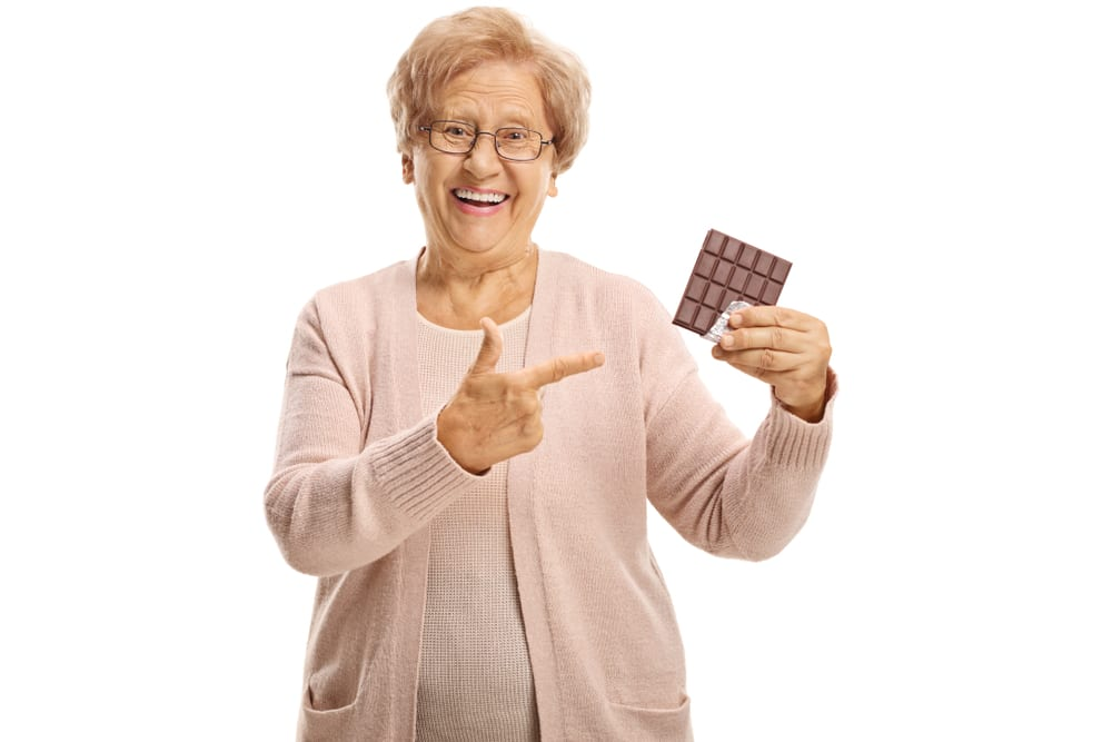 Healthy Foods for Senior Citizens - dark chocolate