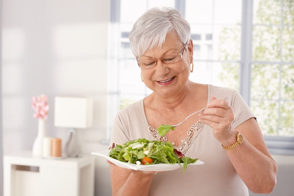 Healthy Foods for Senior Citizens - Green leafy vegatables