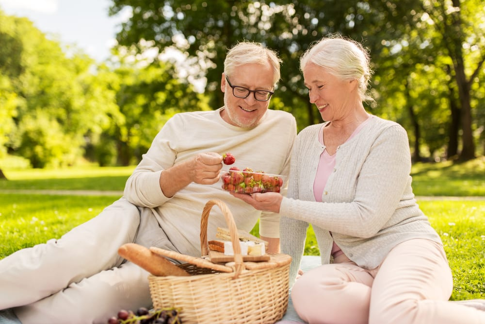 Healthy Foods for Senior Citizens - strawberries