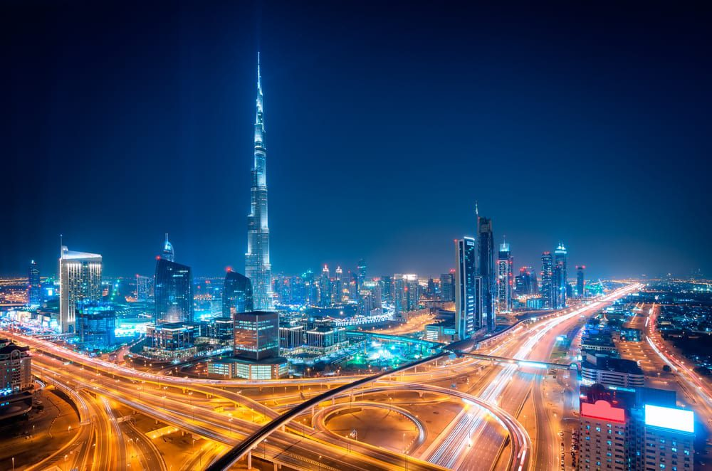 busiest cities in the world - dubai