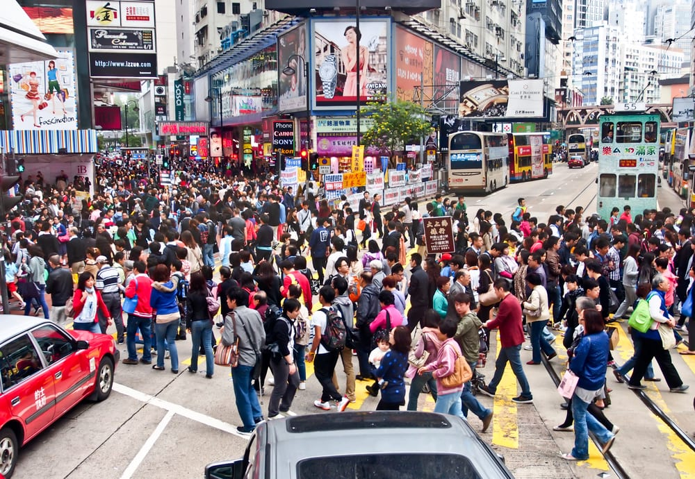 busiest cities in the world - hong kong