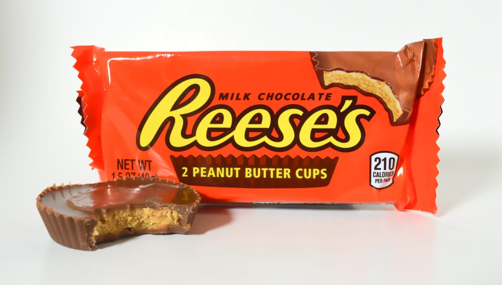 Most Popular Candies For Trick-or-Treating - Reese Peanut Butter Cups