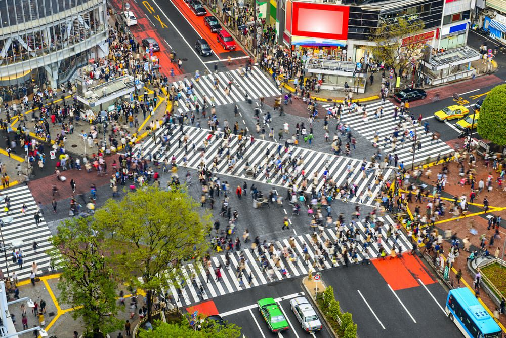 busiest cities in the world - tokyo