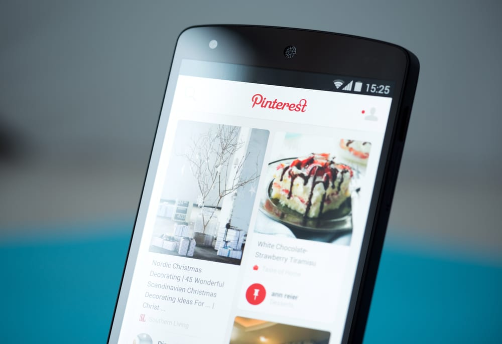 Most Popular Social Media Apps - Pinterest