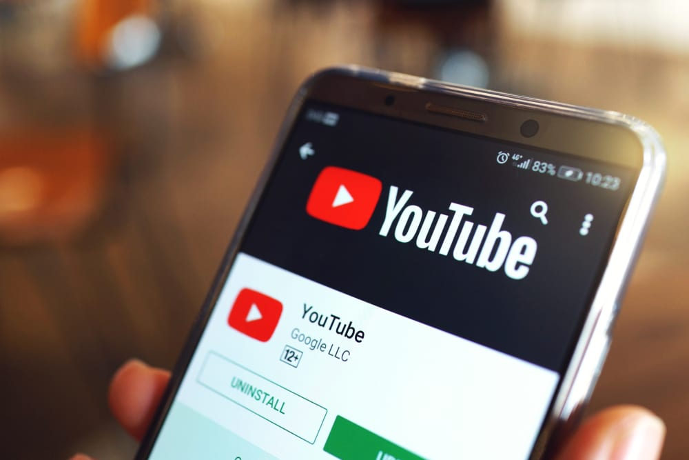 Most Popular Social Media Apps - Youtube