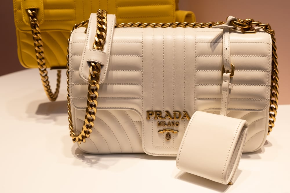 Most expensive handbag brands - Prada
