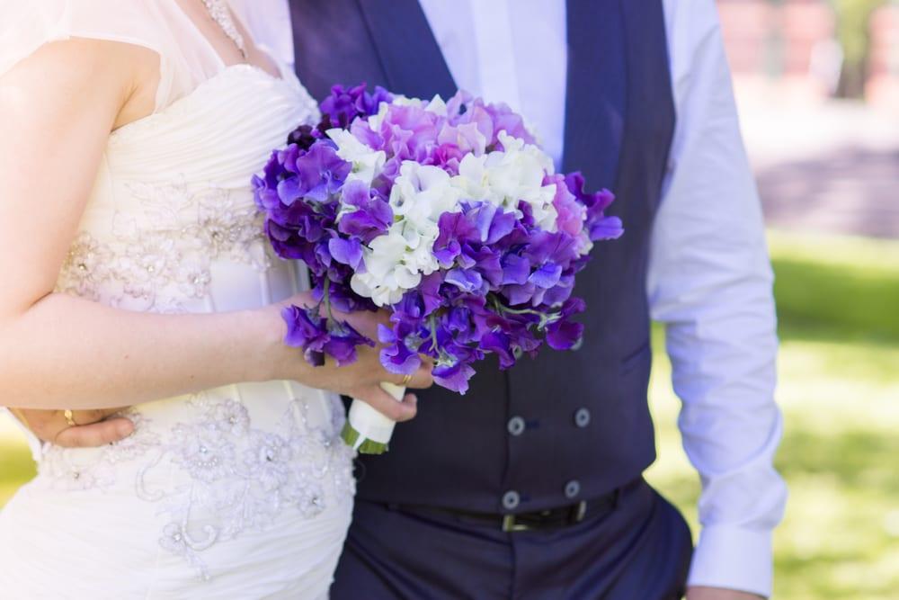 Most Popular Wedding Flowers - Sweet Pea
