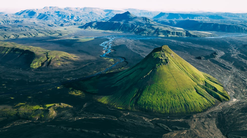 Most Stunning Volcanoes - Maelifell Volcano