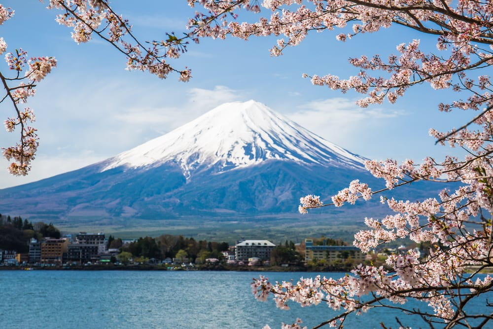 Most Stunning Volcanoes - Mount Fuji