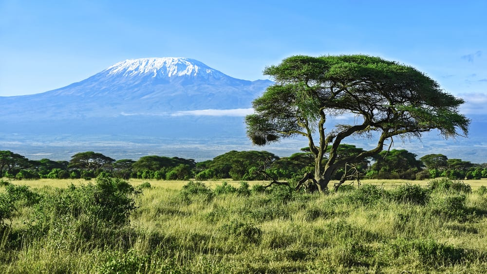Most Stunning Volcanoes - Mount Kilimanjaro