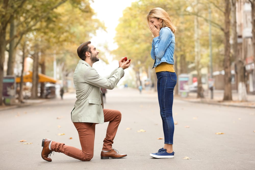 Most Romantic Ways to Propose