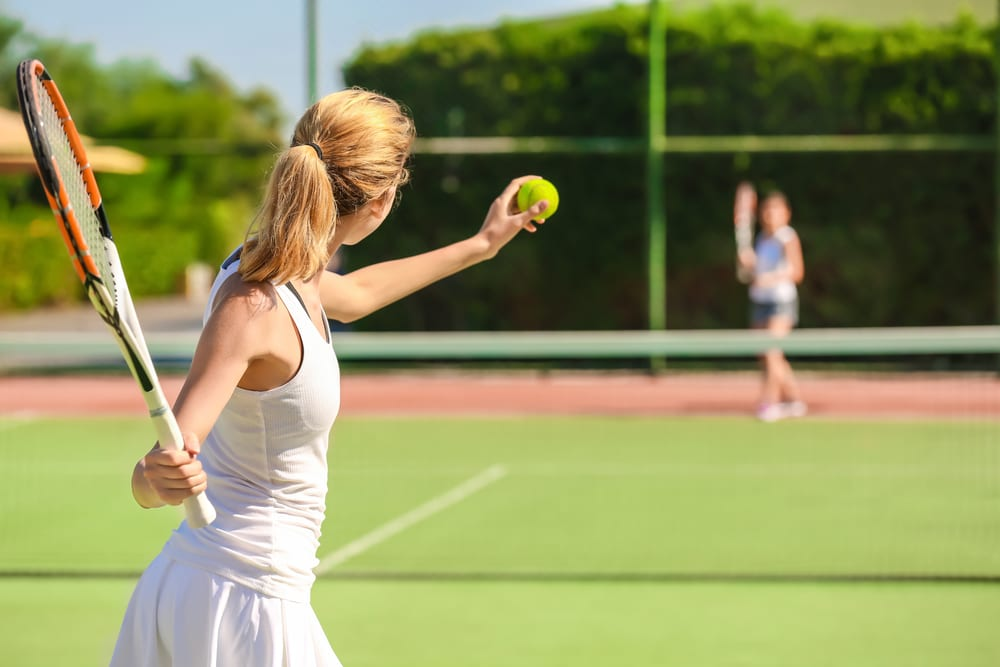 Most Popular Sports for Girls - Tennis