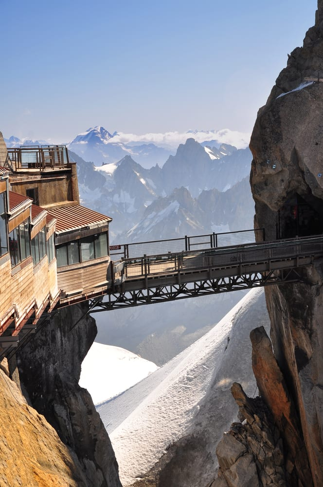 Most Dangerous Bridges - Aiguille du Midi