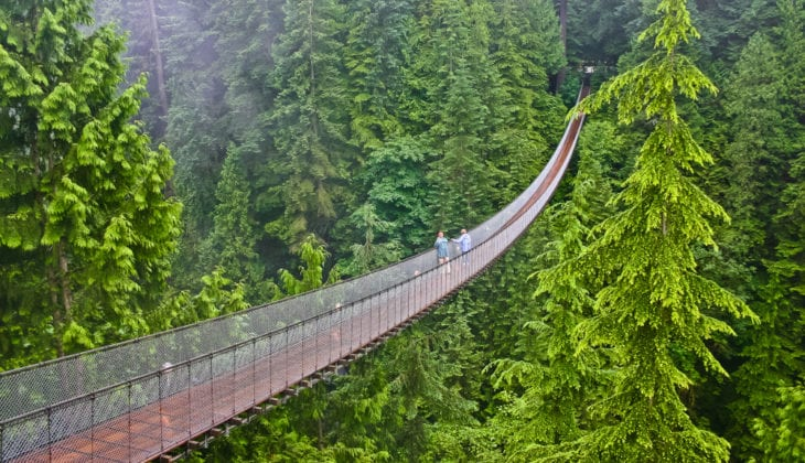 Most Dangerous Bridges - Capilano Suspension Bridge