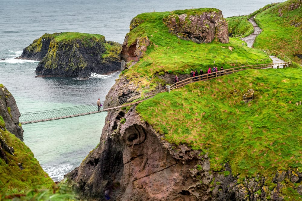 Most Dangerous Bridges - Carrick-A-Rede Rope Bridge