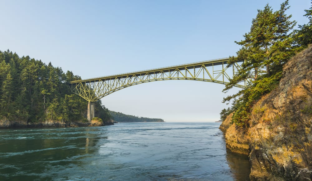 Most Dangerous Bridges - Deception Pass Bridge