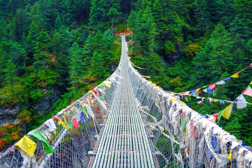 Most Dangerous Bridges - Hanging Bridge of Ghasa