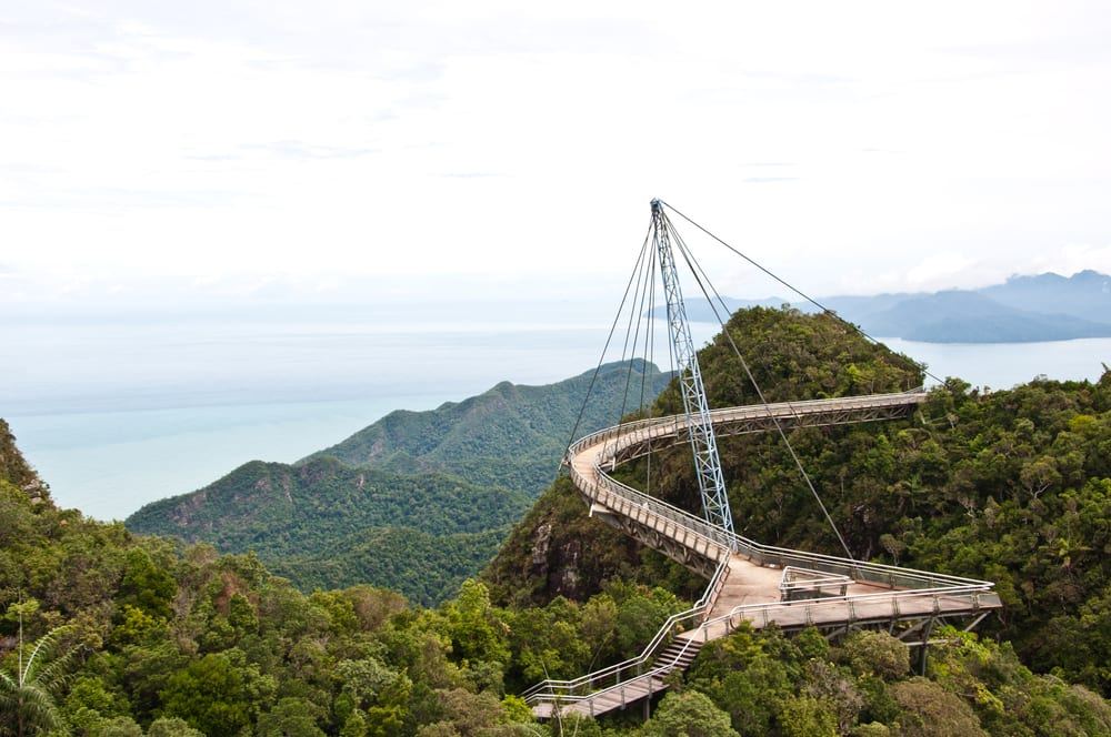 Most Dangerous Bridges - Langkawi Sky Bridge