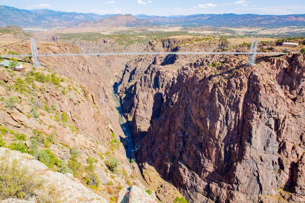 Most Dangerous Bridges - Royal Gorge Bridge