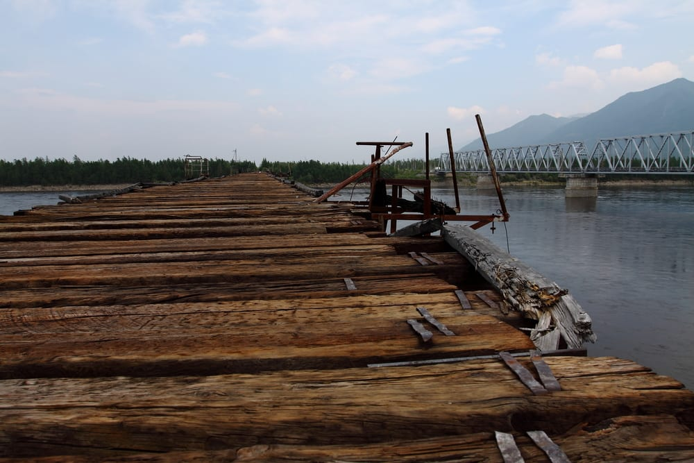 Most Dangerous Bridges - Vitim River Bridge