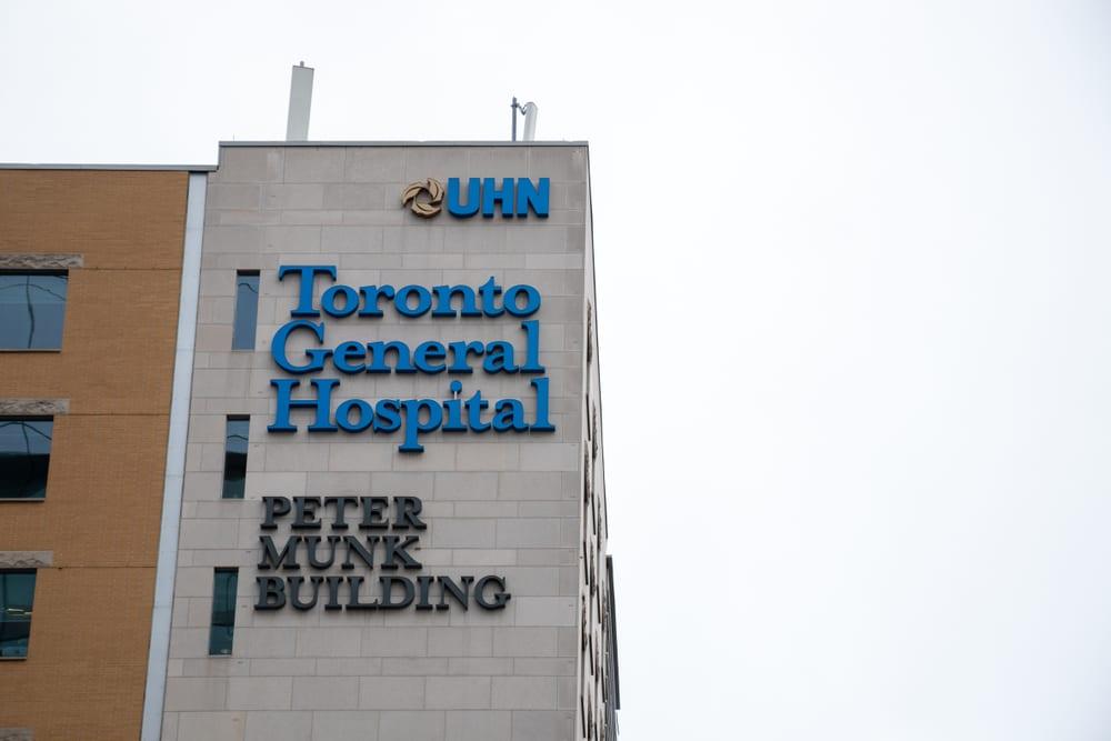Most Advanced Hospital - Toronto General Hospital