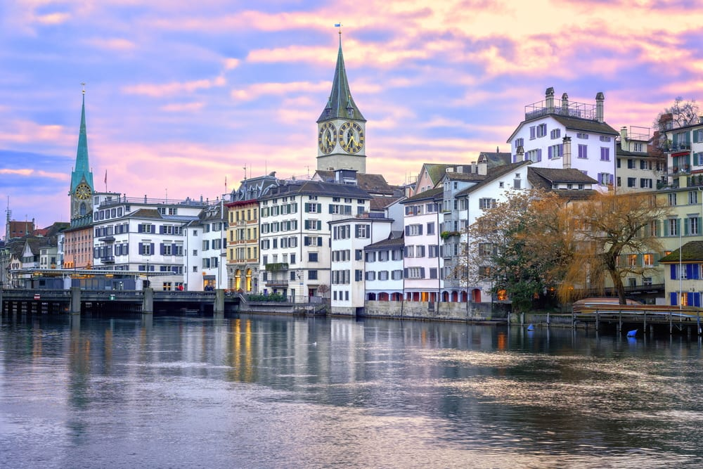 Most Silent Places - Zurich