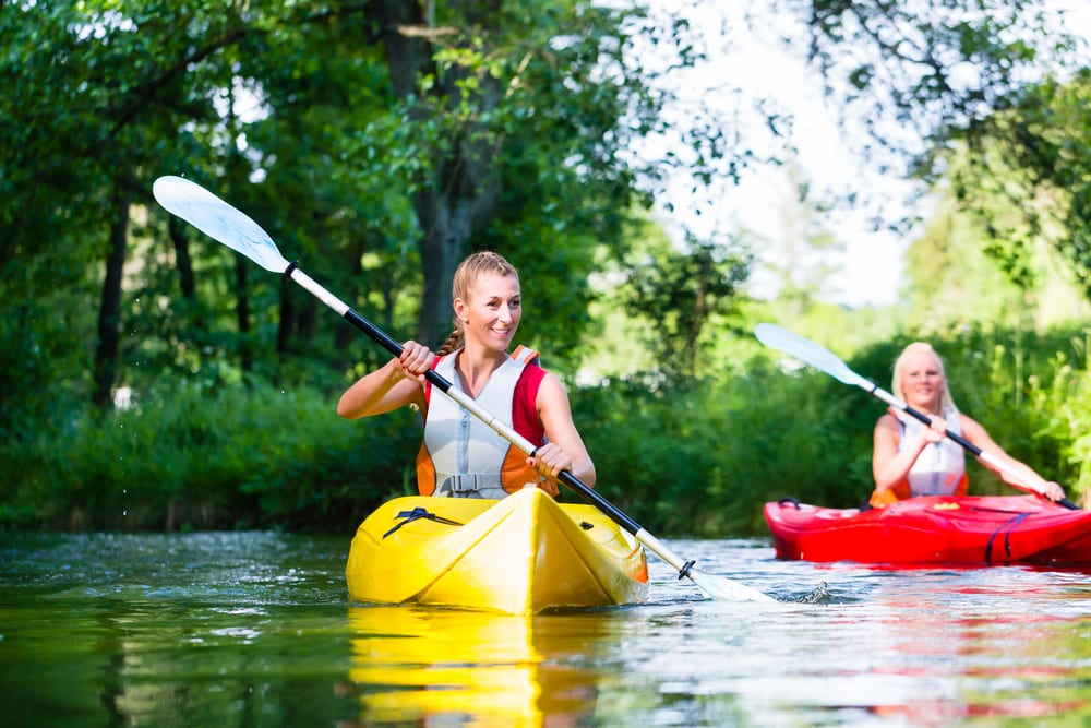 Most Relaxing Ways to Burn your Calories - Canoeing