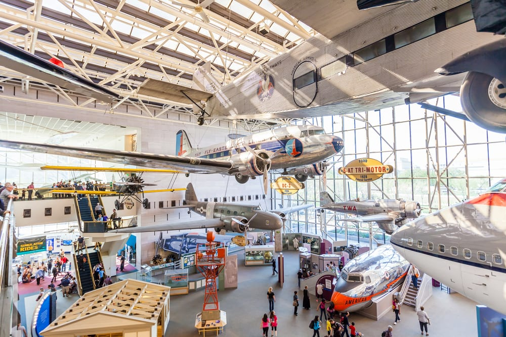 Most Visited Museums - National Air and Space Museum