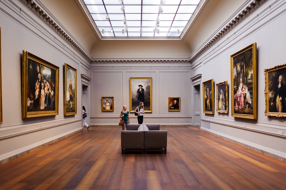 Most Visited Museums - National Gallery of Art