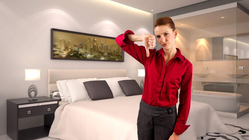 The most shocking secrets of the hotel room