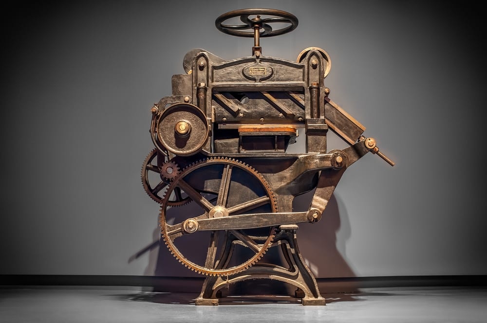 The most outstanding inventions - printing press
