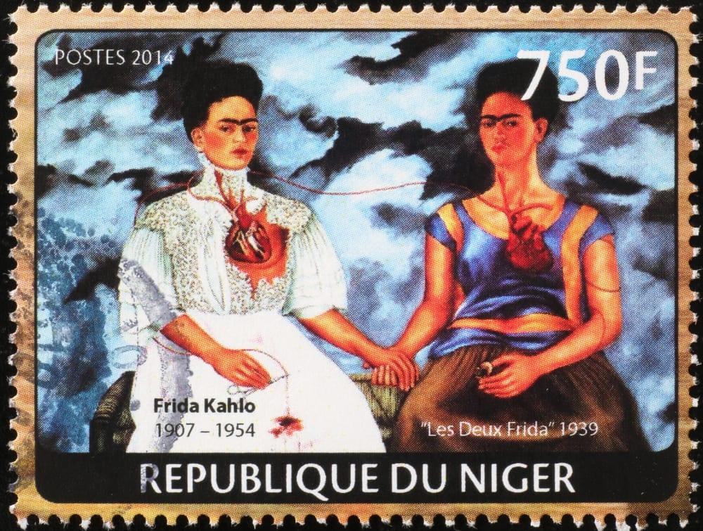 Most Popular Artists - Frida Kahlo