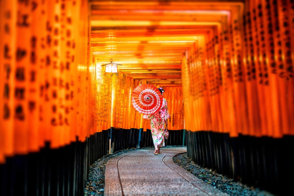 Most Instagrammable Places - Kyoto Japan