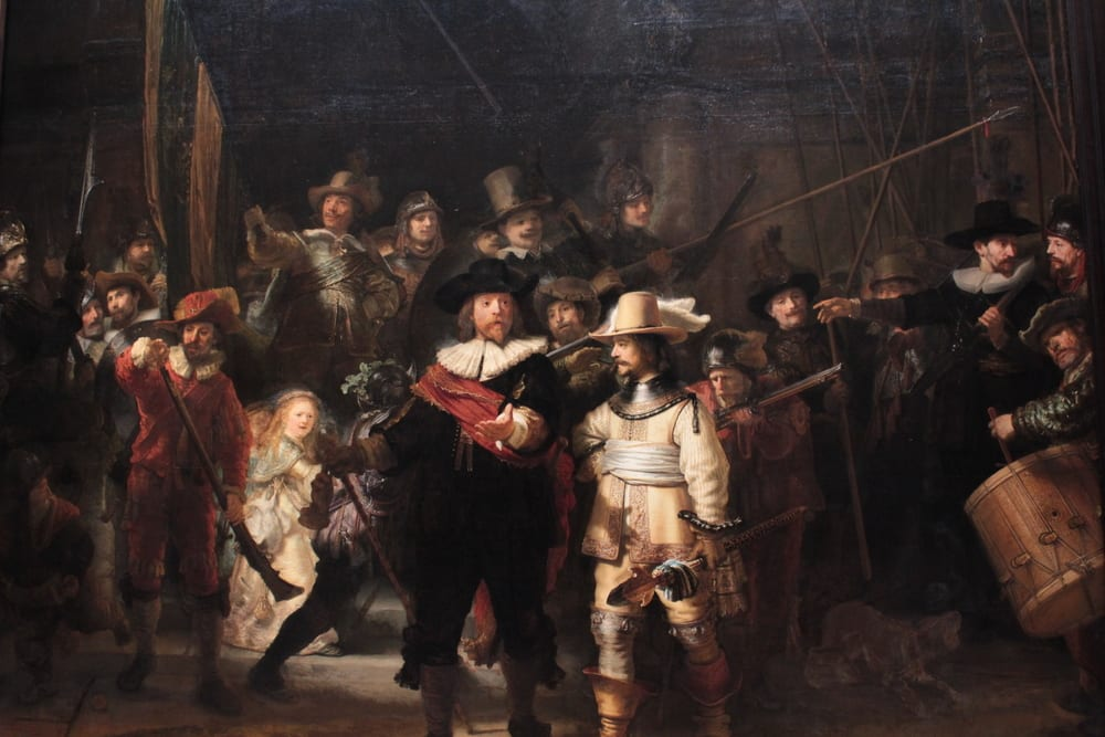 Most popular artist - Rembrandt