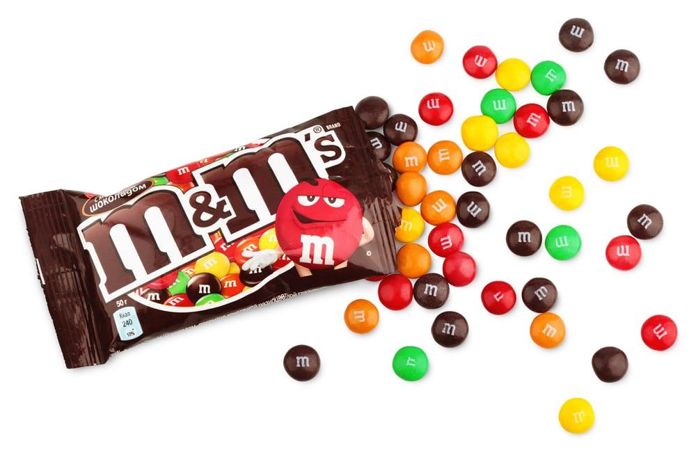 Most Popular Halloween Candies - MM