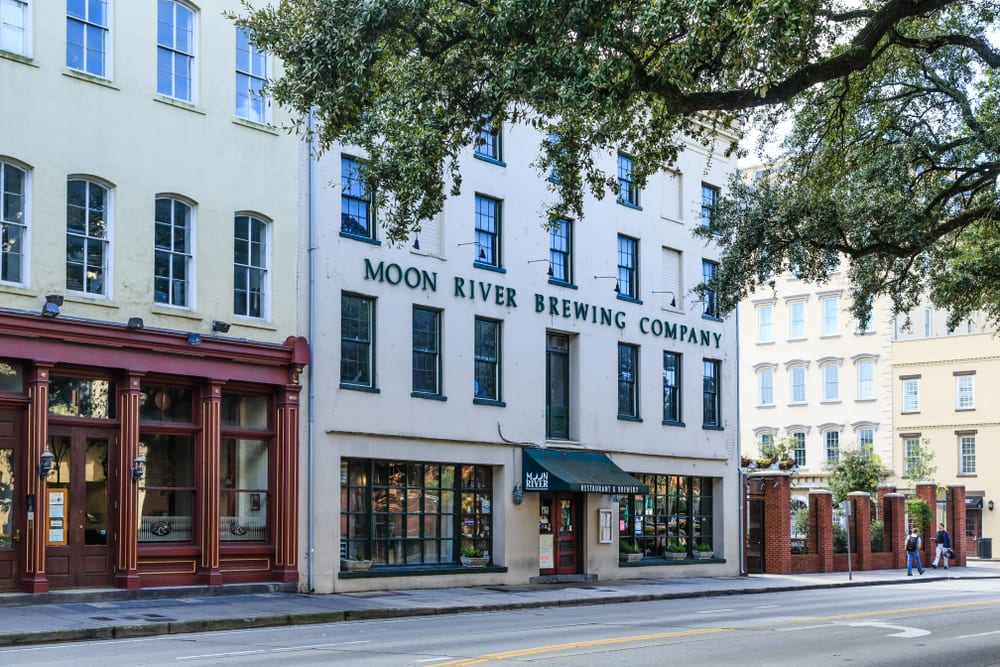 Most Haunted Places in America - Moon River Brewery